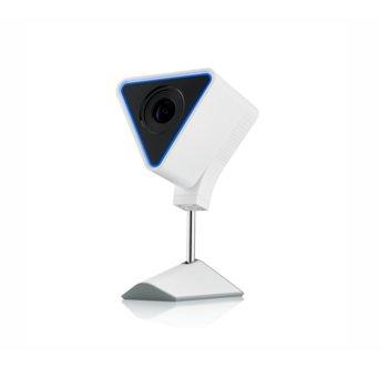 IP камера ZyXEL CAM3115, домашна/портативна, 2.1Mpix(1920x1080@25fps), 2.8mm обектив, H.264, Bluetooth 4.1, Wi-Fi, вътрешна, USB Type C, 16GB Flash памет, микрофон и говорител image