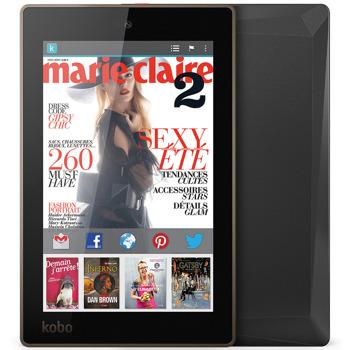 """Електронна книга KOBO Arc 7HD, 7"""" (17.78 cm) HD+ дисплей, четириядрен Nvidia Tegra 3 1.7GHz, 1GB RAM, 16GB Flash памет, 1.3 Mpix camera, Android, 341g image"""