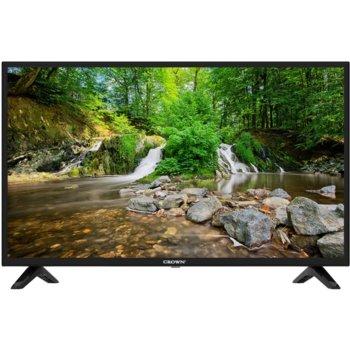 """Телевизор Crown 19J110HD в комплект с адаптер за кола ТВ Crown ASM-CC01 за 12V, 19"""" (48 cm) HD LED LCD TV, DVB-T/T2/C/MPEG4, HDMI, USB, VGA image"""