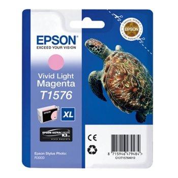 ГЛАВА ЗА EPSON STYLUS PHOTO R3000 - Light Magenta - P№ C13T15764010 - заб.: 25.9ml. image