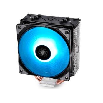 Охлаждане за процесор DeepCool GAMMAXX GTE RGB, съвместимост със сокети LGA LGA20XX/1151/1150/1155/LGA1366 & AMD AM4/AM3+/AM3/AM2+/AM2/FM2+/FM2/FM1 image