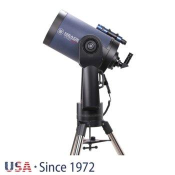 Телескоп Meade LX90 10 F/10 ACF, 8x50 mm с решетка с кръстче оптично увеличение, 254mm диаметър на лещата, 2500mm фокусно разстояние image