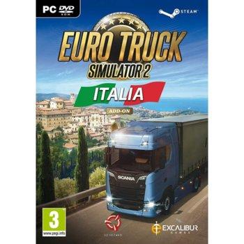 Допълнение към игра Euro Truck Simulator 2 - Italia Add-on, за PC image