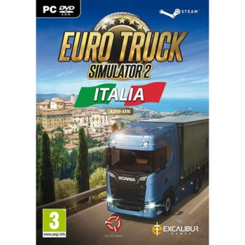 Допълнение към игра Euro Truck Simulator 2 - Italia Add-on, за PC image