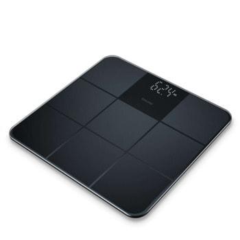 Електронен кантар Beurer GS 235, капацитет 180 кг, LCD дисплей, индикатор за претоварване, черен image