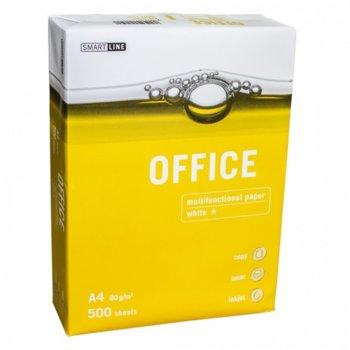 Хартия OFFICE, A4, 80g/m2, 500 л., бяла image