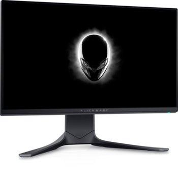 "Монитор Dell Alienware AW2521HFA, 24,5"" (62.2 cm) IPS, 240Hz, Full HD, 1ms, 400 cd/m2, 2x HDMI, DP image"