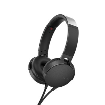 Слушалки Sony MDR-550AP, микрофон, черни image