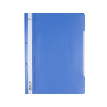 PVC папка Lux, перфорация, светлосиня, A4 image