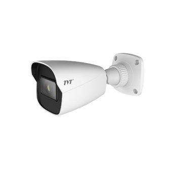 "IP камера TVT TD-9421S2H(D/PE/AR2), насочена ""bullet"", 2MP (1920x1080@25fps), 3.6mm обектив, H.265/H.264/MJPEG, IR осветленост (до 30м), външна IP67, PoE, 1x RJ45 10M/100M Base-T, microSD слот image"