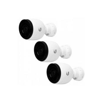 """IP камера Ubiquiti G3-PRO, насочена """"bullet"""" камера, 2MPix (1920x1080@30fps), 3-9 mm обектив, H.264, IR осветеност, външна IP67, PoE, RJ-45, микрофон image"""