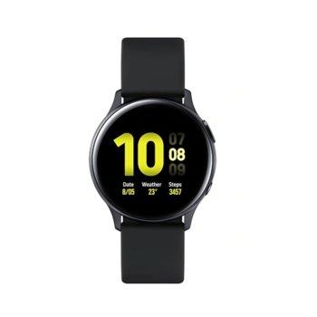 Смарт часовник Samsung Galaxy Watch Active2 SM-R830N (SM-R830NZKABGL), до 95 часа време за работа, алуминиев, черен image