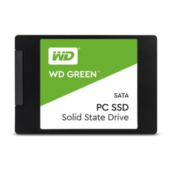 """Памет SSD 480GB Western Digital WDS480G2G0A, SATA 6Gb/s, 2.5"""" (6.35cm), скорост на четене 545 MB/s, скорост на запис 465 MB/s image"""