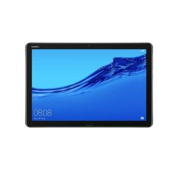 "Таблет Huawei MediaPad M5 Lite, BACH2-W19C(w/o Pen)(6901443329694), Wi-Fi, 10.1"" (25.65 cm) WUXGA IPS дисплей, осемядрен HiSilicon Kirin 659 2.36 GHz, 3GB, 32GB Flash памет + microSD слот, 8.0 & 8.0 MPix камера, Android 8.0, 475 kg image"