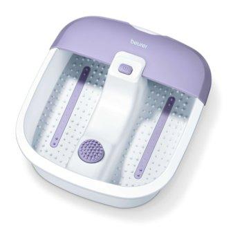 Хидромасажна вана Beurer FB 12, за ходила, 3 функции, вибриращ / въздушен масаж, бял/лилав image