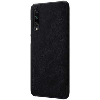 Калъф за Xiaomi Mi 9 Lite, луксозен флип, Nillkin QIN, черен image