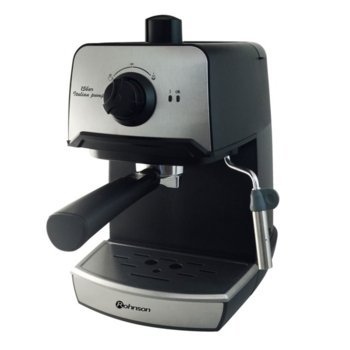 Ръчна еспресо кафемашина Rohnson R 977, 850W, 15 bar, италианска помпа, дюза за капучино, двоен филтър от неръждаема стомана image