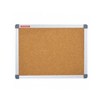 Коркова дъска Memoboards, с алуминиева рамка, размер 600x900 mm, кафява image