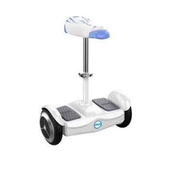 Електрически скутер Airwheel S6, до 17км/ч, алуминиев/магнезиев корпус, с вградена седалка, до 100кг, бял image