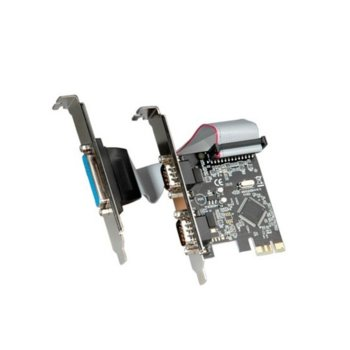 Контролер Roline 15.99.2116, от PCI Express към 2x serial, 1x parallel image