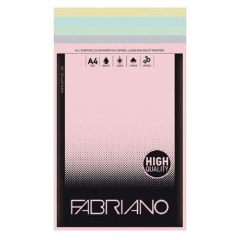 Копирен картон Fabriano, A4, 160 g/m2, 5 цвята, 50 листа image