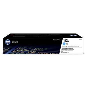 Тонер касета за HP Color Laser 150a/150nw, 178nw/179fnw, Cyan - W2071A - HP - Заб.: 700 к image