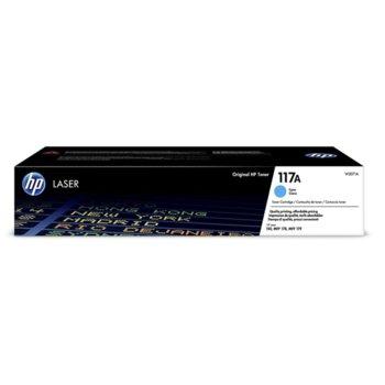 Тонер касета за HP Color Laser 150a/150nw, 178nw/179fnw, Cyan - W2071A - HP - Заб.: 700 брой копия image