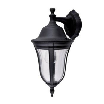LED градинско осветително тяло Elmark EM96202WD/BK, IP44, Стенен монтаж image