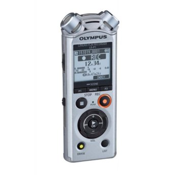Диктофон Olympus LS-P1 LineArt PCM Recorder Video Kit, 4GB, microSD, USB, черен image