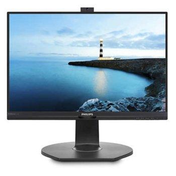 """Монитор PHILIPS 221B7QPJKEB, 21.5"""" (54.61 cm) IPS панел, Full HD, 5 ms, 20000000:1, 250 cd/m2, HDMI, DisplayPort image"""