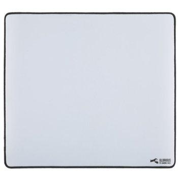 Подложка за мишка Glorious - XL, гейминг, бяла, 460 x 410 x 2mm image