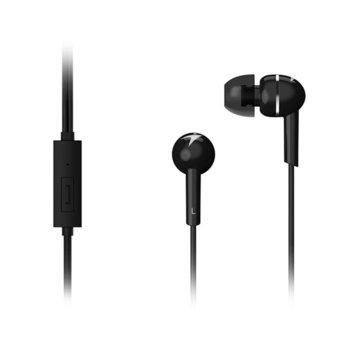 Слушалки Genius HS-M300, микрофон, черни image