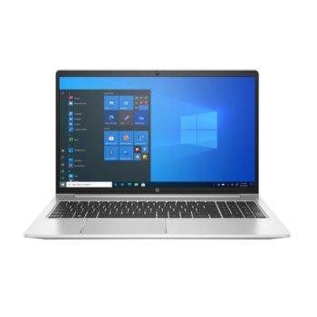 "Лаптоп HP ProBook 450 G8 (2X7X4EA-16GB)(сребрист), четириядрен Tiger Lake Intel Core i5-1135G7 4.20 GHz, 15.6"" (39.62 cm) Full HD IPS Anti-Glare Display, (HDMI), 16GB DDR4, 512GB SSD, 1x USB 3.1 Type-C, No OS image"