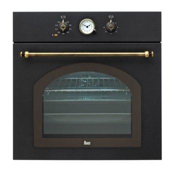 Фурна за вграждане Teka HR 750, 65л. обем, 9 програми, ретро дизайн, охлаждаща система с вентилатор и сместителна камера, енергиен клас А, антрацит image