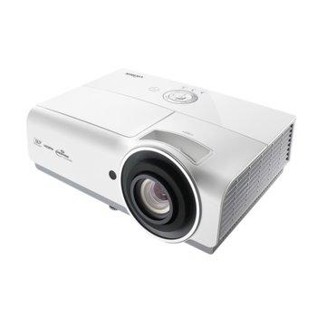 Проектор Vivitek DW832-EDU, DLP, 3D Ready, WXGA (1280x800), 15000:1, 5000 lm, 2x HDMI, 2x VGA, RJ-45, USB, бял image