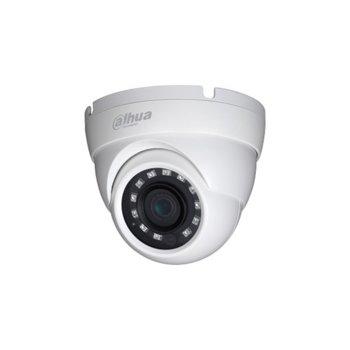 HDCVI камера Dahua HAC-HDW1500M, куполна камера, 5 MPix (1080p(1920x1080@25FPS)), 3.6mm обектив, IR осветление (до 30m), външна, IP67 защита image