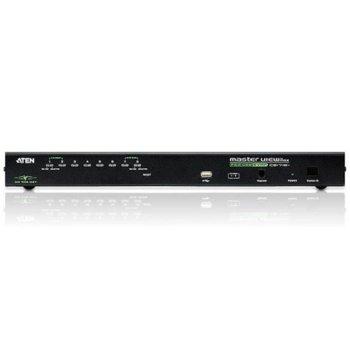 KVM суич ATEN CS1708i, 1x SPHD-18(м) към 8x SPHD-17(ж), 1x DB-25(м), 1x RJ-45(ж), 1x RJ-11(ж), 1x USB A(ж), 1 устройство image