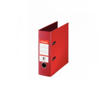 Банков класьор Esselte, за документи с формат до А5, дебелина 7см, червен image
