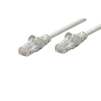 Пач кабел Intellinet, UTP, Cat.5e, 15m, сив image