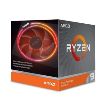 Процесор AMD Ryzen 9 3900X, дванадесетядрен (3.8/4.6 GHz, 64MB, AM4) BOX, с Wraith Prism with RGB LED охлаждане image
