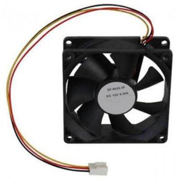 Вентилатор (63031), 80x25mm, 3-пинов, 2500rpm, sleeve image