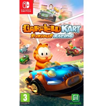 Игра за конзола Garfield Kart: Furious Racing, за Nintendo Switch image
