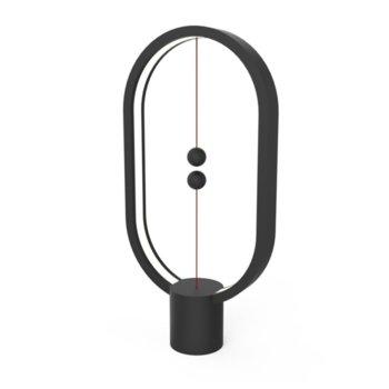 LED настолна лампа Allocacoc HENG Balance Lamp DH0040BK, 5W, 5V, 175 lm, USB, 1.5 м. кабел, черна image