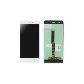 Дисплей за Huawei Nova Smart / Huawei 6C DIG-L01 LCD, с тъч, бял image