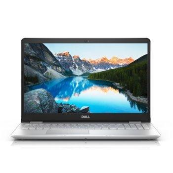 "Лаптоп Dell Inspiron 5584 (5397184273111)(сребрист), четириядрен Whiskey Lake Intel Core i5-8265U 1.6/3.9 GHz, 15.6"" (39.62 cm) Full HD Anti-Glare Display & GF MX130 2GB, (HDMI), 8GB DDR4, 1TB HDD, 1x USB 3.1 Type C, Linux, 2.05 kg image"