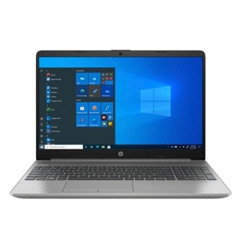 "Лаптоп HP 250 G8 (2X7L0EA)(сребрист), двуядрен Tiger Lake Intel Core i3-1115G4 3.0/4.1 GHz, 15.6"" (39.62 cm) Full HD IPS Anti-Glare Display, (HDMI), 8GB DDR4, 256GB SSD, 1x USB 3.1 Type-C, No OS image"