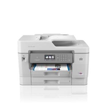 Мултифункционално мастиленоструйно устройство Brother MFC-J6945DW, цветен принтер/копир/скенер/факс, 4800 x 1200 dpi, 35 стр./мин, LAN, Wi-Fi, NFC, USB, A3 image
