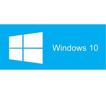Операционна система Microsoft Windows 10 Home Get Genuine Kit, 64-bit Английски, Intl 1pk DSP, DVD image