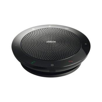 Конферентна слушалка Jabra Speak 510 MS, сертифициран продукт от Skype, безжично свързване image