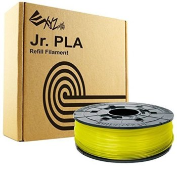 XYZprinting PLA (NFC) filament 600gr clear yellow product